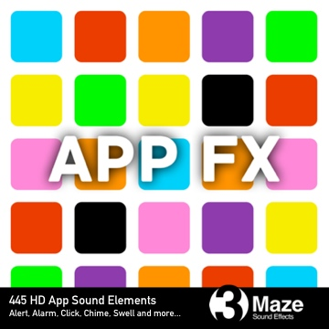 App FX: Mobile, Tablet and Desktop Sound Elements