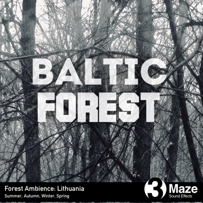 Baltic Forest Ambience Recordings