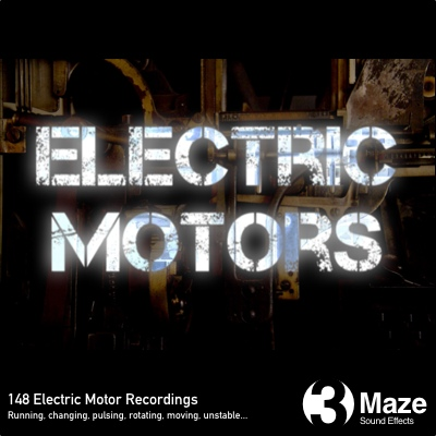 Electric Motors: HD Sound Collection