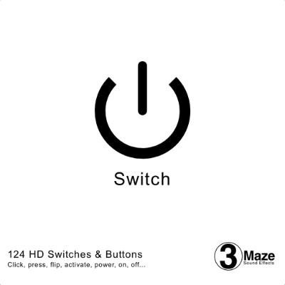 Switch and Button Sound Collection